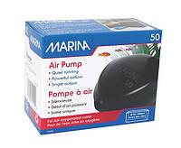 Hagen Marina Air Pump 50 -компрессор одноканальный для аквариума (11110)