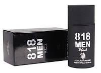"Парфюмерная вода с феромонами ""818 Men Black"" для мужчин (25мл)"