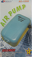 Компрессор Resun AC-1500, двухканальный.