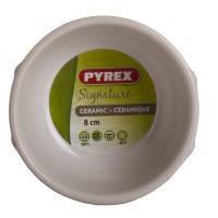 Форма порционная для запекания pyrex signature белая 80 мм керамическая (sg08br1)