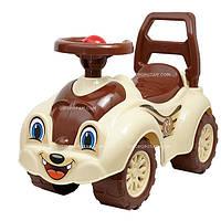 Детский автомобиль для прогулок Технок 2315 коричневый