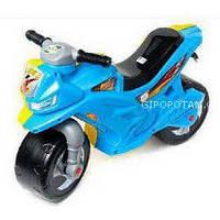 Мотоцикл 2-х колесный желто-голубой Орион 39-8-1510
