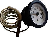 Термометр на 120`C ф-35мм(с метровым медным капиляром)