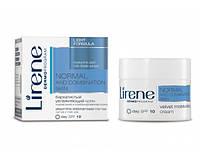 Легкий бархатистый увлажняющий крем, 50мл, Нормальная и комбинированная кожа, Lirene
