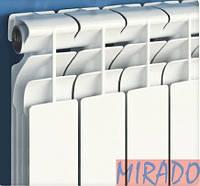 Биметаллический радиатор MIRADO ЦЕНА, ОПИСАНИЕ, КИЕВ 044-443-10-84