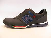 Туфли  мужские спортивные REEBOK кожаные, синие (рибок)р.43,44