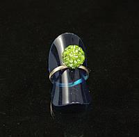 Кольцо шамбала,салатовое