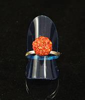 Кольцо шамбала,красное