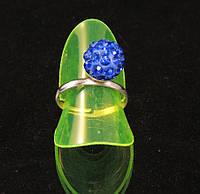 Кольцо шамбала,синее