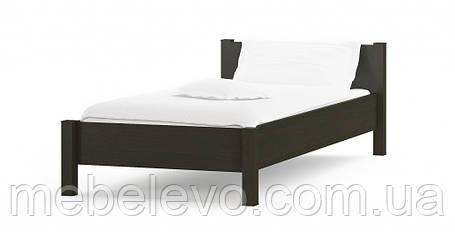 Кровать Фантазия 90 654х1024х2122мм венге темный + дуб самоа   Мебель-Сервис, фото 2