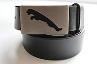 Черный брендовый ремень 'Puma' 40 мм