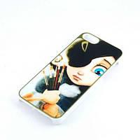 Чехол накладка Mr. Orange Loli iPhone 4/4s пластик soft touch