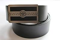 Черный брендовый ремень 'Giorgio Armani'