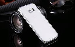 Чехол TPU для Samsung Galaxy S6 со стразами