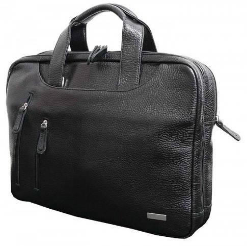 """Стильная сумка для ноутбука 15,6"""" Vip Collection 241A flatar черный"""