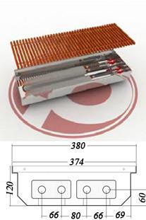 Внутрипольные  конвекторы  POLVAX KEM 120