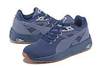 Мужские кроссовки Puma R698 Knit blue