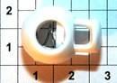 Фиксатор 3121 белый ( в упаковки 1000 штук )