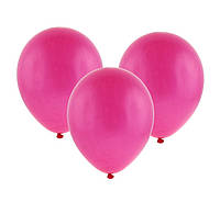 Шарики воздушные фуксия( ярко-розовые) 10 дюймов