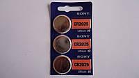 Батарейка таблетка литиевая Sony CR2025,3V таблетка.Батарейка таблетка літієва Sony CR2025,3V.
