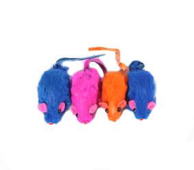 Игрушки - мыши для кошек