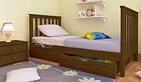 Кровать детская подростковая Ариана Мини 70*140 (массив ольха)