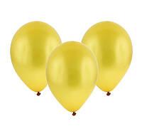 Воздушный шар  золотистый 10 дюймов