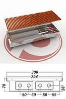 Внутрипольные  конвекторы  POLVAX KEM 300 - 78