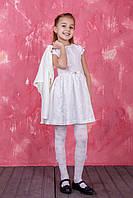 Платье для девочки в модный принт