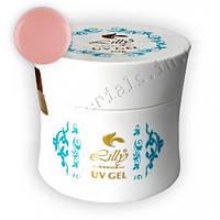 Гель однофазный Lilly 56 г, розовый (Yellowish 2)