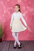 Детское платье с коротким рукавом и пиджаком с длинным рукавом