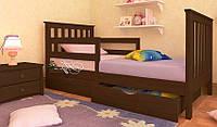 Кровать детская подростковая Ариана Люкс 70*140 (массив ольха)