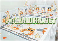 Защитные бортики защита ограждение охранка бампер для детской кроватки в на детскую кроватку манеж 2965