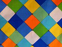 Ткань штапель ромбы