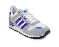 Кросівки жіночі Adidas ZX 700 grey-blue, фото 1