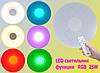Светильник 24Вт, пластик 50см, Теплый/Холодный+RGB