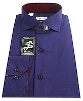 Рубашка мужская классическая c принтом №SR 55.3 RС