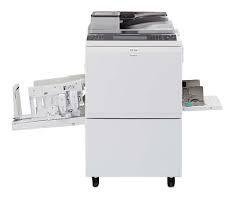 Настольный цифровой дупликатор Ricoh Priport  DD 6650 с системой трафаретной печати.