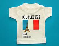 Термопленка флекс Poli-Flex 4675 - белый флекс для печати сублимационными чернилами