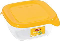 Емкость Fresh&Go 0,25л квадратная желтая, Curver (Польша)