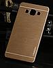 Металлический золотой чехол Motomo для Samsung Galaxy A5