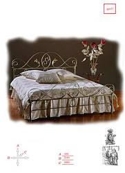 Кровати кованые