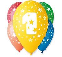 Воздушные шары с цифрой