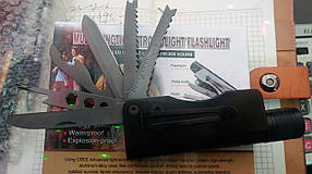 Фонарик Police 410 (швейцарский нож)