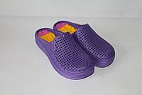 Шлепанцы женские фиолетовые, фото 1