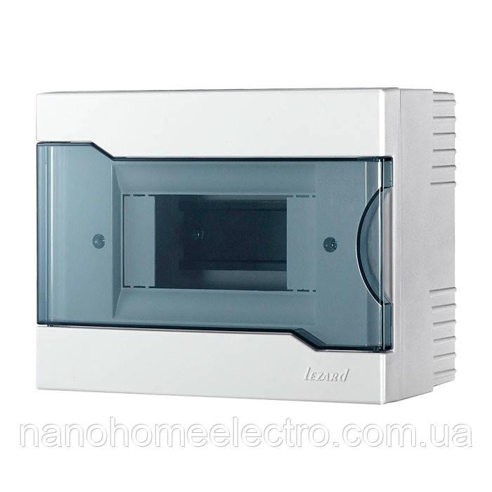 Коробка наружного монтажа для 6 автоматов  LEZARD