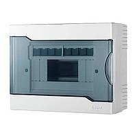 Коробка наружного монтажа для 8 автоматов  LEZARD