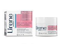 Увлажняющий укрепляющий крем для лица, 50мл, Сосудистая кожа, Lirene