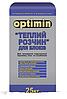 Клей для газобетону Теплий розчин Оптимин 25кг