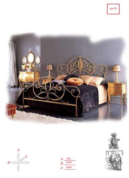 Кованая мебель - кровать